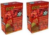 Ecobrasa Kokosbriketten 2-Pack (20Kg)