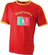 Rood heren shirt Portugal 2XL