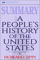 Boek cover Summary of A Peoples History of the United States by Howard Zinn van Readtrepreneur Publishing