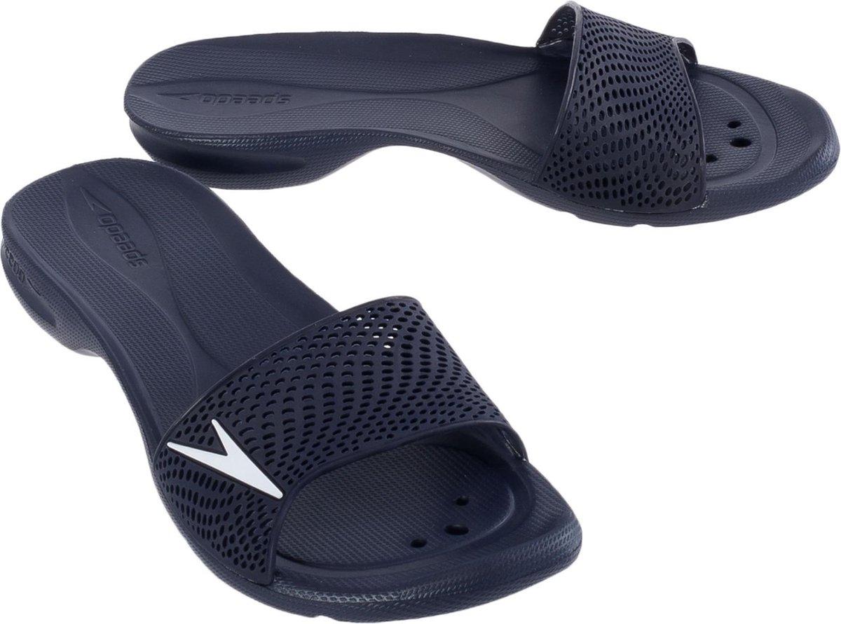 Speedo Atami Ii Max Dames Slippers  - Blauw/Wit  - Maat 40,5 - Speedo