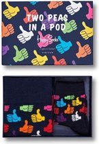 Happy Socks Two Peas in a Pod Giftbox - Maat 41-46 & 0-12 maanden