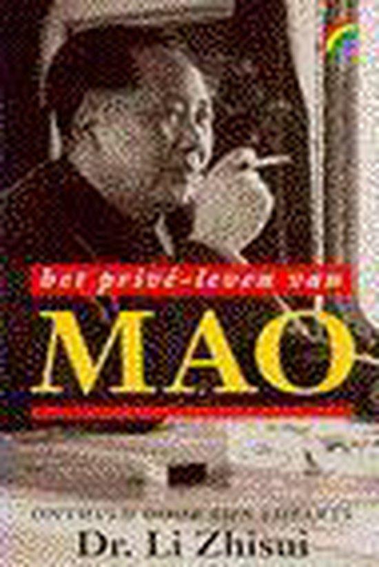 Boek cover Het prive-leven van Mao van Zhisui Li (Paperback)