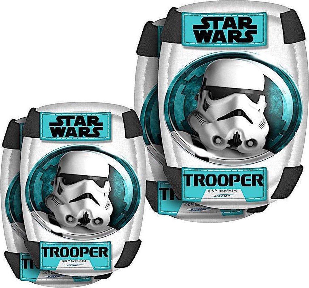 Disney Beschermset Star Wars Wit/turquoise Maat S
