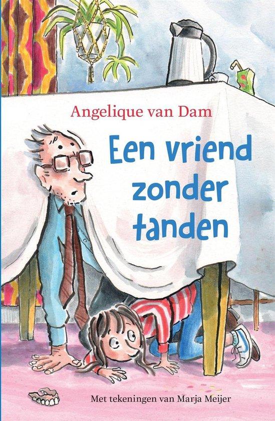 Boek cover Een vriend zonder tanden van Angelique van Dam (Binding Unknown)