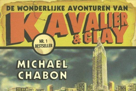 De wonderlijke avonturen van Kavalier en Clay - dwarsligger - Michael Chabon |