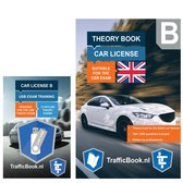 Boek cover Driving Licence Car Theory Book (English)  - Dutch Traffic with Practise USB - 12 theory exams van TrafficBook (Onbekend)