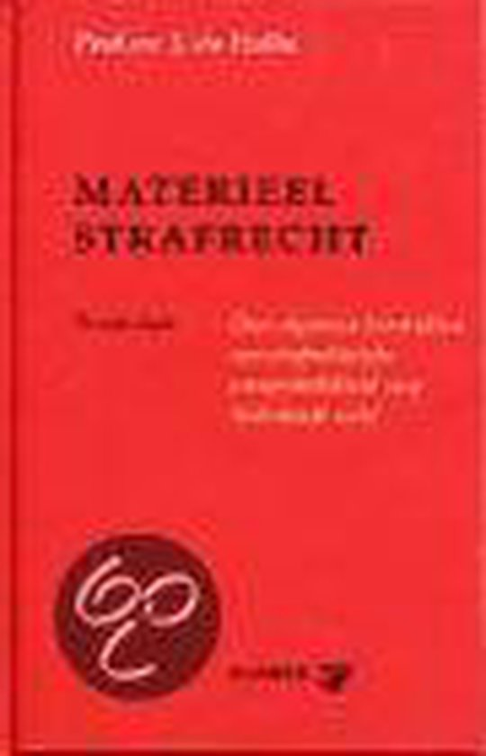 Boek cover Materieel strafrecht van J. de Hullu (Hardcover)