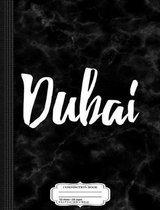 Dubai Uae Composition Notebook
