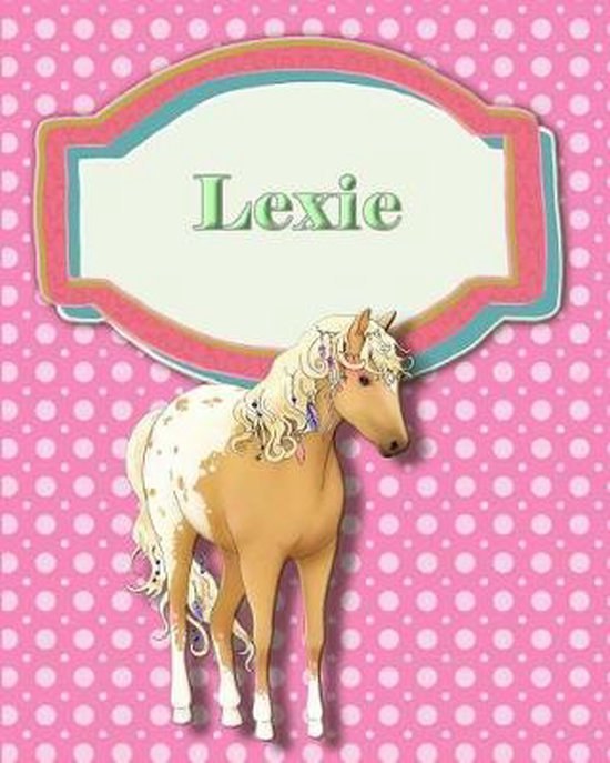 Handwriting and Illustration Story Paper 120 Pages Lexie