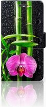 Exclusief Design Hoesje Orchidee voor de Lenovo K6