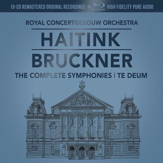 CD cover van Bruckner: The Symphonies (10Cd+1Br) van Bernard Haitink