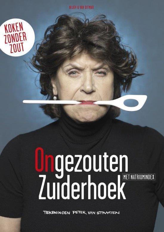 Boek cover Ongezouten Zuiderhoek van Olga Zuiderhoek (Paperback)