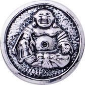 Quiges - Drukknoop 18mm Boeddha - EBCM367
