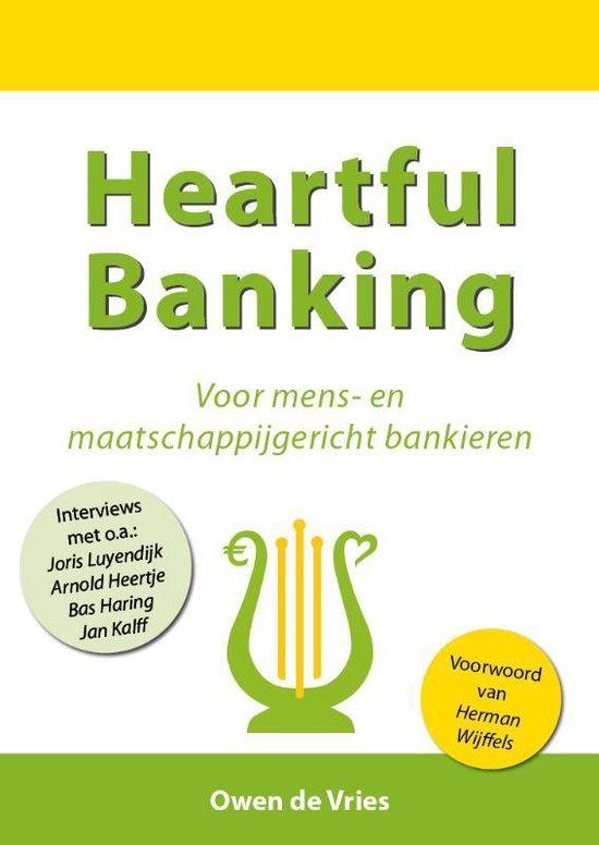 Cover van het boek 'Heartful banking' van Owen de Vries