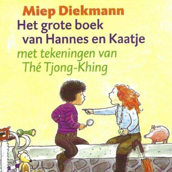 Boek cover Het grote boek van Hannes en Kaatje van Miep Diekmann (Onbekend)