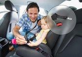 Gordelverlengers voor auto's – Veiligheidsgordel – Beugel voor autostoel - Autogordelverlenger 35cm – Gordelverlenger maxi cosi – Autogordel – Zwart –1 Stuk