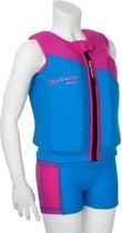EasySwim Pro - Drijfpakje - Zwemvest & Zwembroek - Roze - L: 24-28 kg