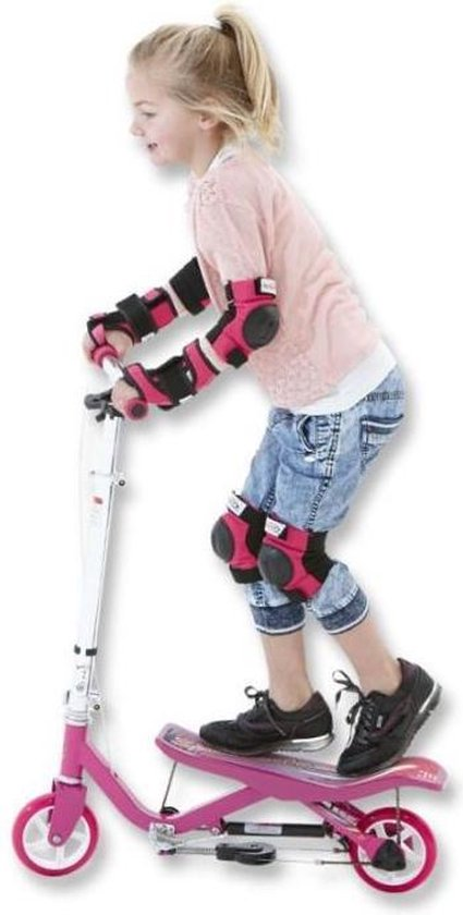 Space Scooter Junior - Step - Roze