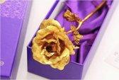 Gouden Roos 24k - Met Luxe Doos en Geschenkverpakking