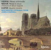 Dupre: Four Motets, Vierne: Messe Solennelle & Wid