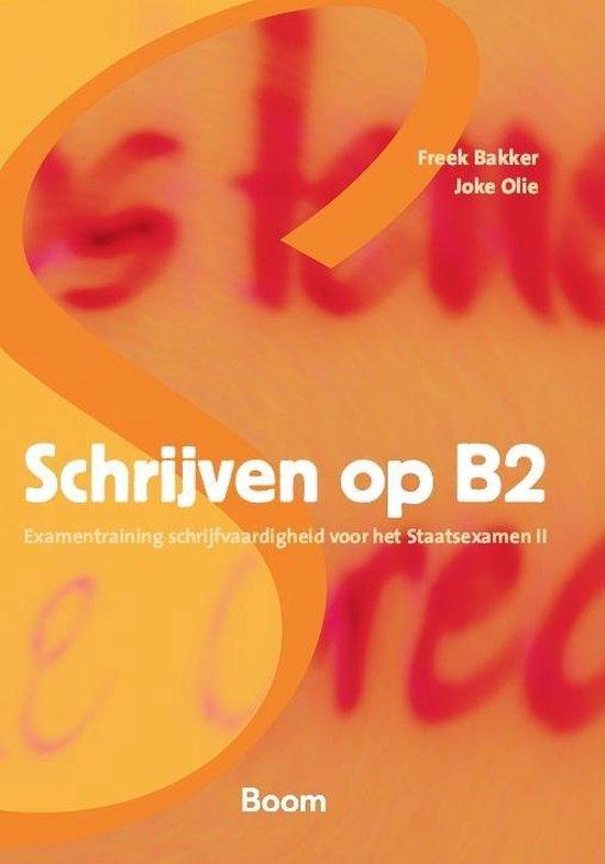 Boek cover Schrijven op B2 van Joke Olie (Paperback)