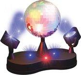 PartyFunLights - Discolamp - LED - spiegelbol