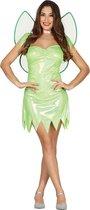 Glanzende groene fee kostuum voor vrouwen - Volwassenen kostuums