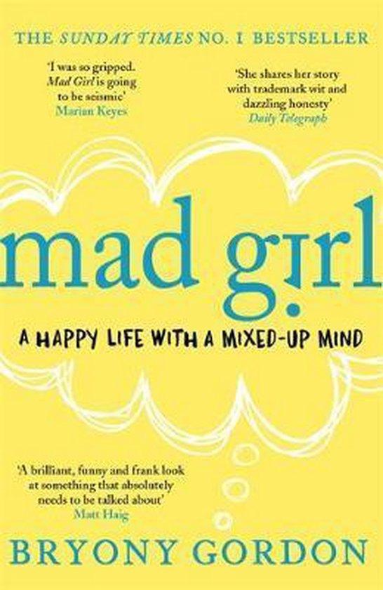 Boek cover Mad Girl van Bryony Gordon (Paperback)