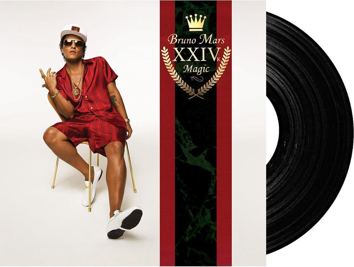 24K Magic (LP) - Bruno Mars