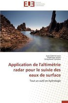 Application de l'Altim�trie Radar Pour Le Suivie Des Eaux de Surface