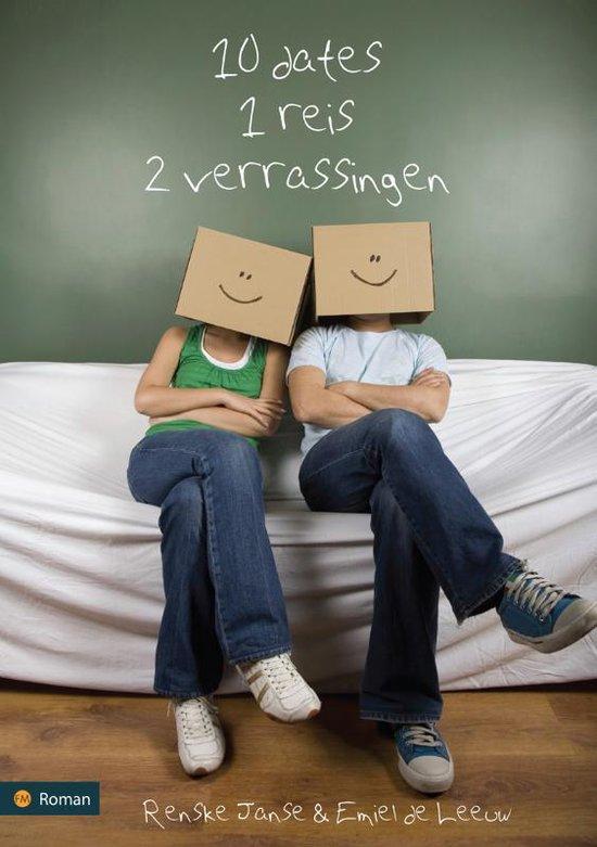 Cover van het boek '10 dates, 1 reis, 2 verrassingen' van Emiel de Leeuw