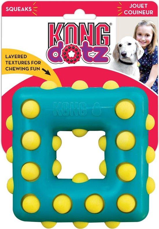Kong dotz square 13,5x13,5x4,5 cm