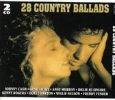 28 Country Ballads (2 Cd's)