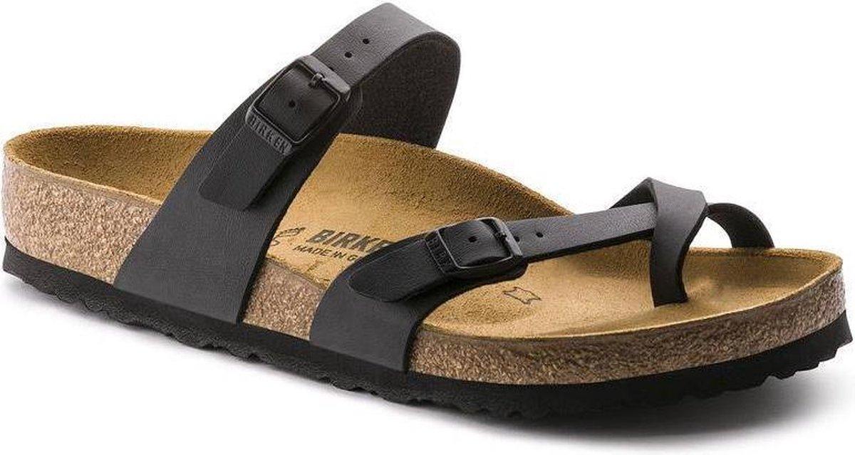 Birkenstock Mayari Dames Slippers Regular fit - Black - Maat 38