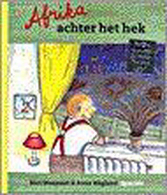 Boek cover Afrika achter het hek van Bart Moeyaert