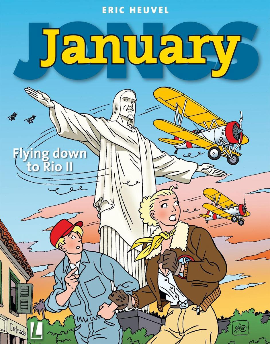 January Jones 10 -   Flying down to Rio II - Eric Heuvel