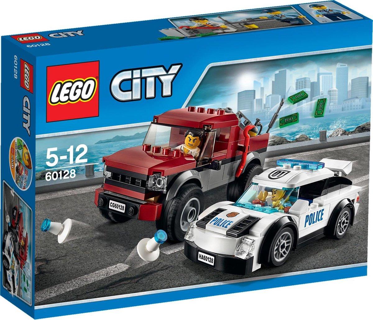 LEGO City Politieachtervolging - 60128
