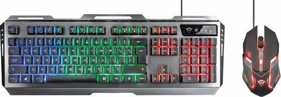 GXT 845 Tural - Gaming Toetsenbord & Muis - QWERTY / Zwart