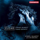 Elgar: String Quartet, Piano Quintet / Ian Brown, Sorrel Quartet