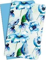 notitieboek Sigel Jolie set van 2 stuks, A6 softcovercover gelinieerd blauw SI-JN704
