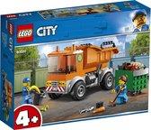Afbeelding van LEGO City 4+ Vuilniswagen - 60220 speelgoed