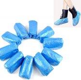 Schoenovertrek | schoenhoesjes |waterdicht | wegwerp | 100 stuks | blauw