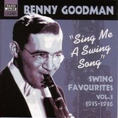 Sing Me A Swing Song: Swing Favourites Vol. 1 1935-1936