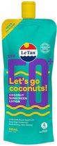 Le Tan Zonnebrand - Coconut Sunscreen Lotion - SPF 50+ - 110 ml