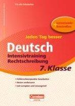 Jeden Tag besser Deutsch 7. Schuljahr. Intensivtraining Rechtschreibung