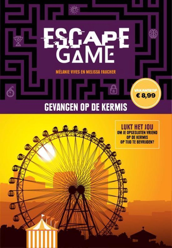 Afbeelding van Escape game - Escape game-Gevangen op de kermis