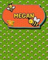 Handwriting Practice 120 Page Honey Bee Book Megan
