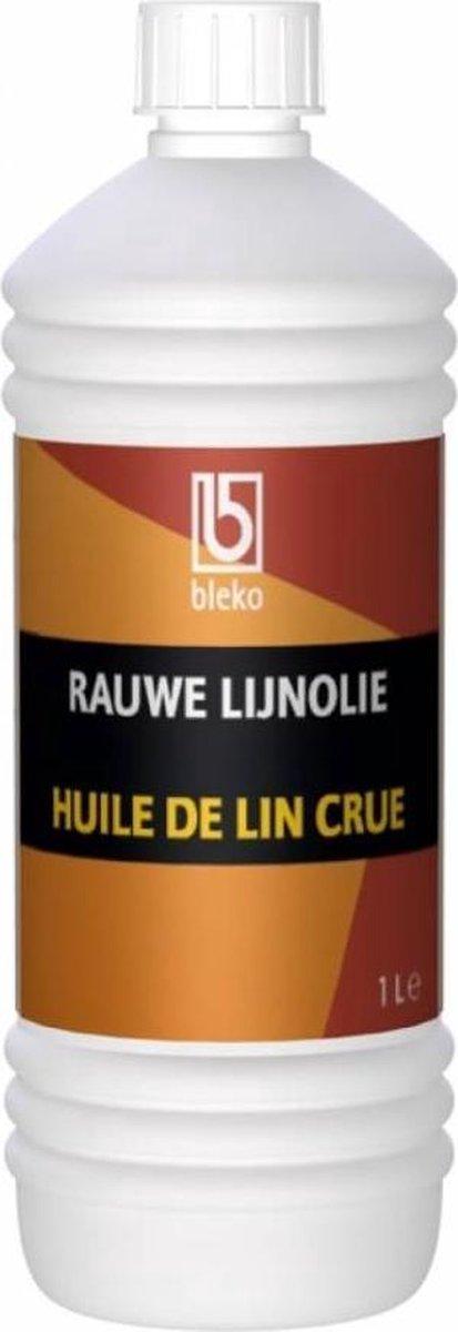 Rauwe lijnolie - 0,5 liter - Bleko Chemie