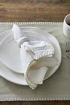 Riviera Maison - Pure Summer Napkin - white flax