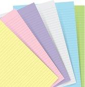 Afbeelding van Filofax Aanvulling  voor Hervulbare  Classic A5 Notebook Pastel Gelinieerd  Papier